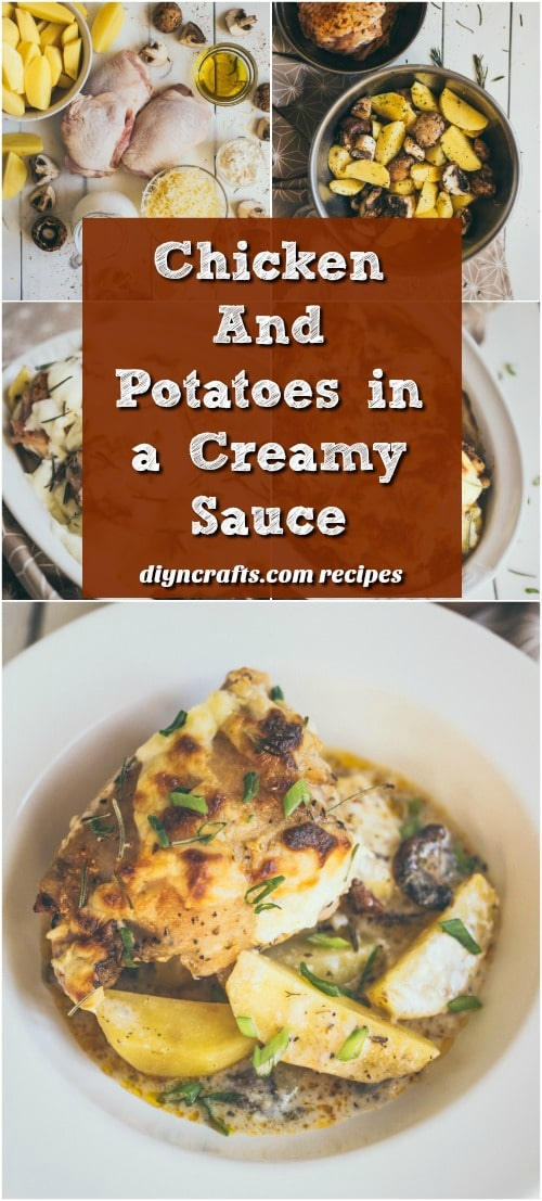 Chicken And Potatoes In A Creamy Sauce Rivals Your Favorite Olive Garden Dish