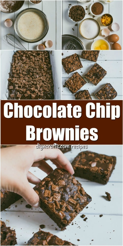 These Chocolate Chip Brownies Are Just Like Heaven In A Pan