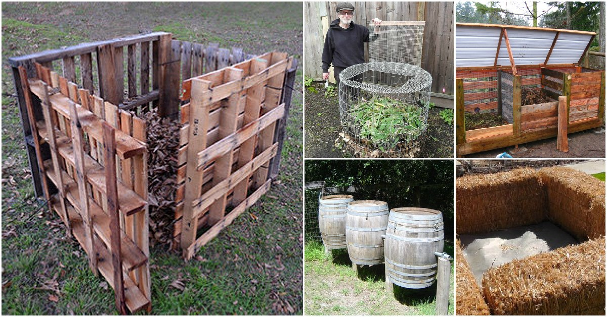 35 And Easy Diy Compost Bins That