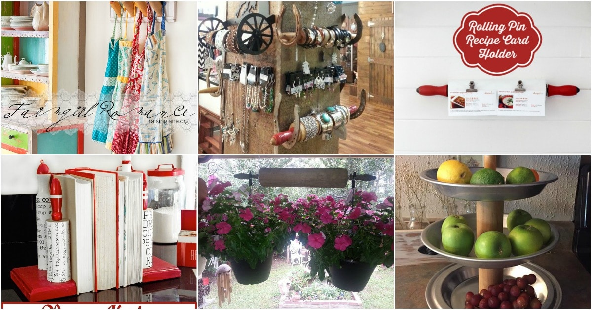 16 Fun And Decorative Repurposing Ideas For Old Rolling