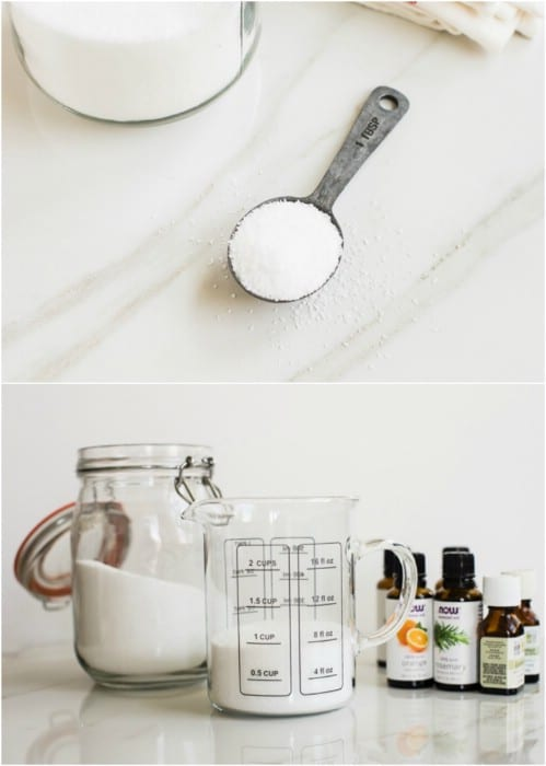 Easy Two Ingredient Fabric Softener Crystals