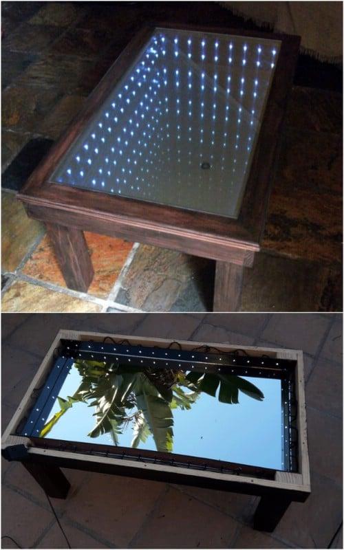 Simple DIY Infinity Coffee Table