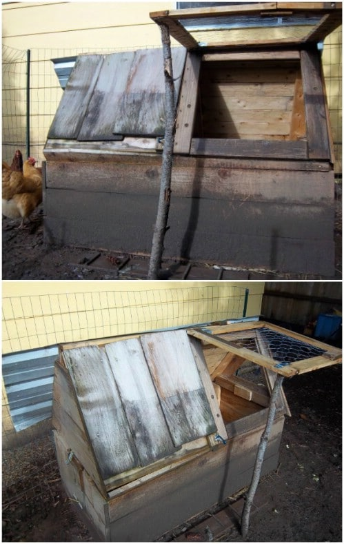 Easy DIY Chicken Coop