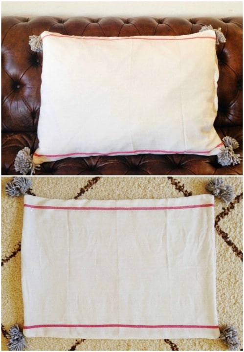Shabby IKEA Napkin Pillowcase Hack
