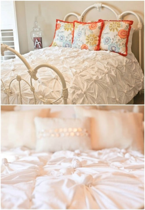 Romantic Rosette Comforter – Anthropologie Hack