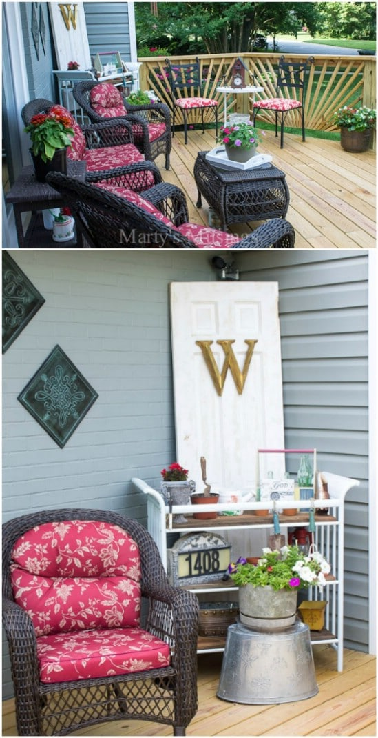 Decorative DIY Garden Cart