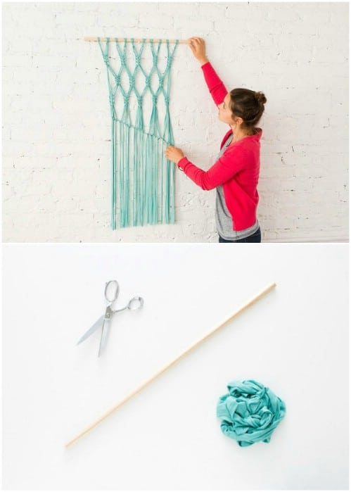 Easy DIY Macramé Wall Hanging