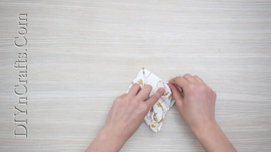 Ornamental Flower - How to Fold These 5 Easy and Decorative Christmas Napkins