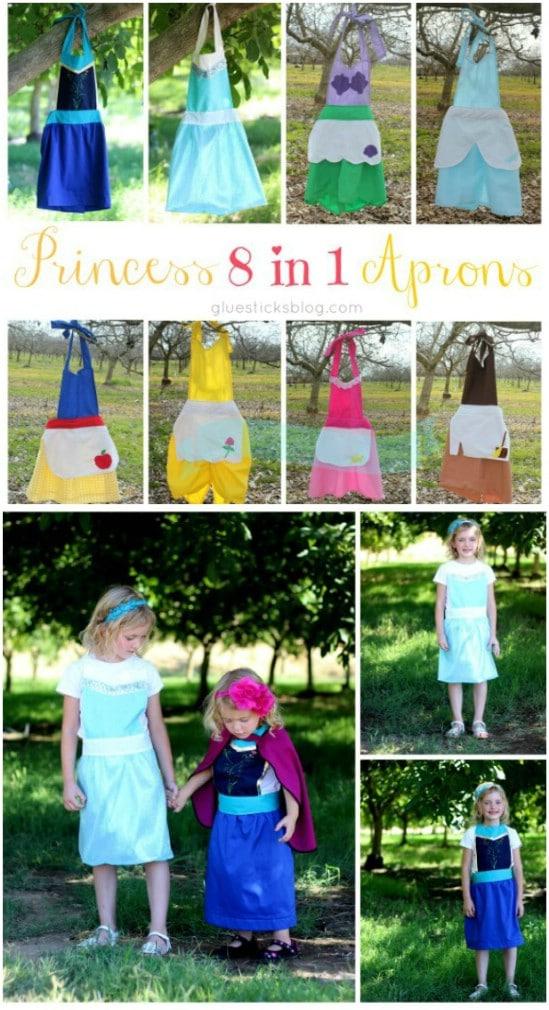 DIY Disney Princess Apron