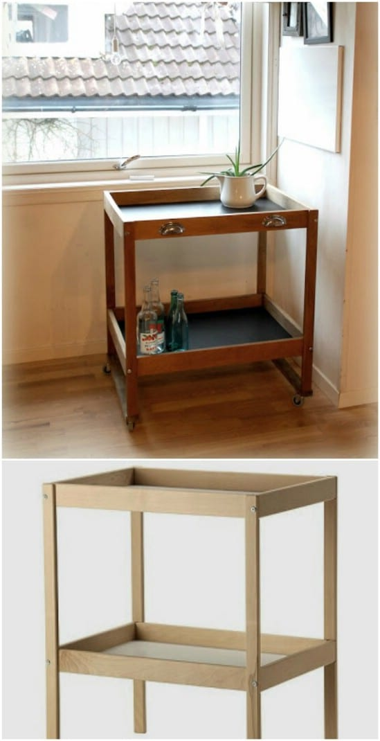 Food Serving Cart