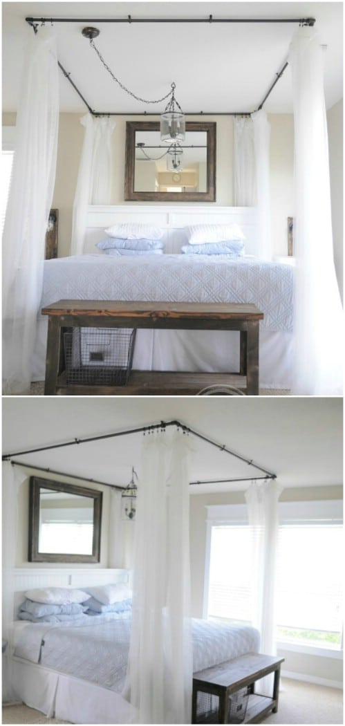 DIY Canopy Bed