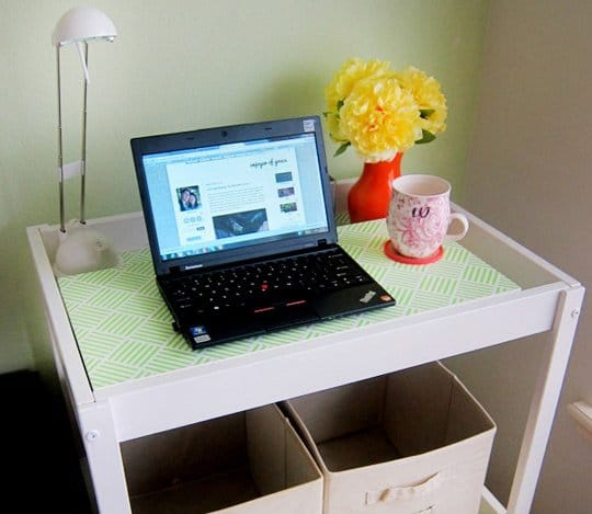 DIY Laptop Cart