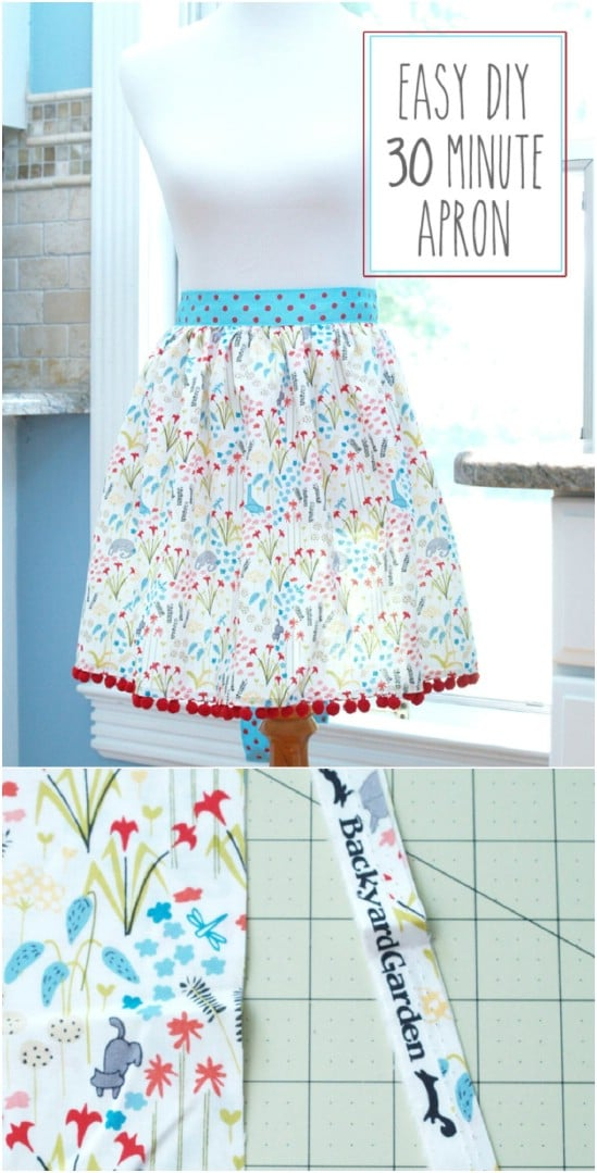 image about Free Printable Apron Patterns called 20 Do-it-yourself Aprons With Absolutely free Styles That Will Preserve On your own
