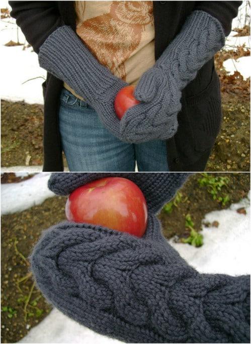Twilight Inspired Bella Knit Mittens
