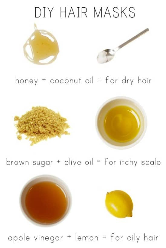 15 All Natural Homemade Hair Masks That Give You Healthy Beautiful ...