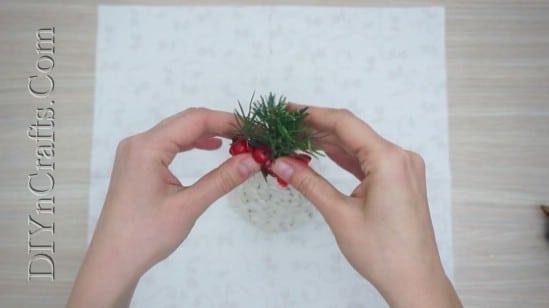 Bean Christmas Tree - 5 Easy Ways to Make Cute Miniature DIY Christmas Trees