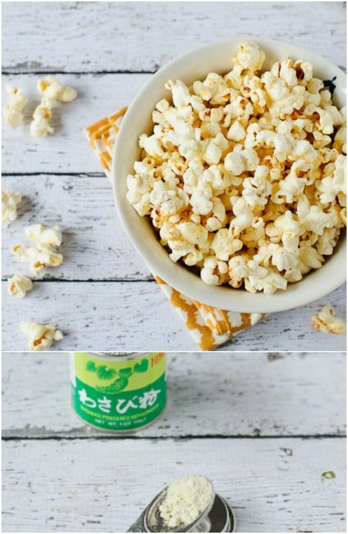 Sweet And Spicy Gourmet Wasabi Popcorn