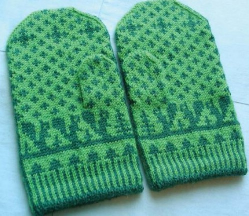 Swedish Squirrel Mittens