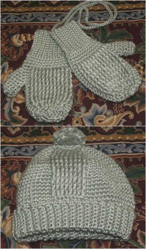 Crochet Squishy Mittens