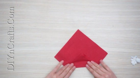 Santa Hat - How to Fold These 5 Easy and Decorative Christmas Napkins