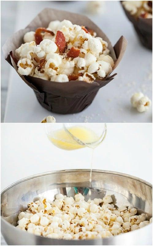 Bacon Truffle Popcorn