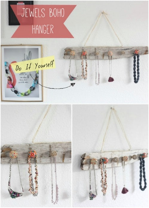 Boho Chic Jewelry Hanger