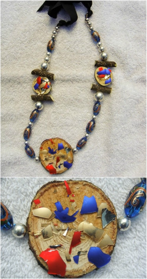 Upcycled Ornament Jewelry