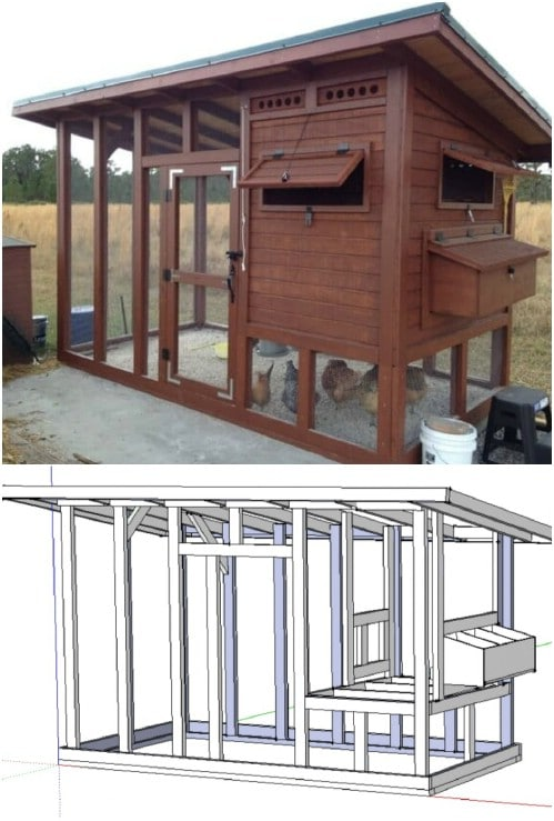DIY Chicken Palace