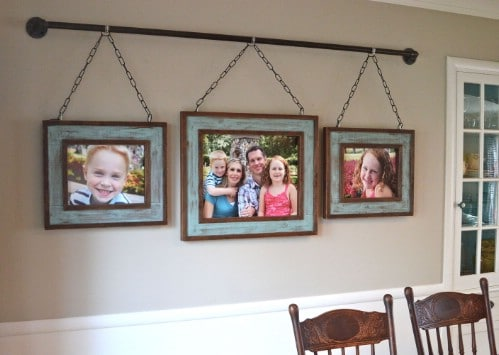 Unique DIY Photo Hanger