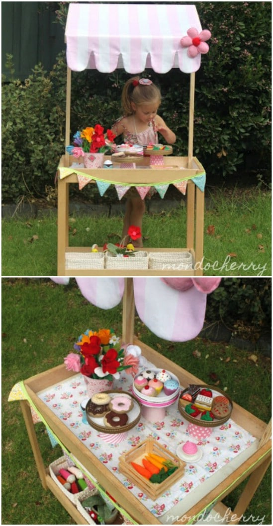 DIY Play Shop/Lemonade Stand