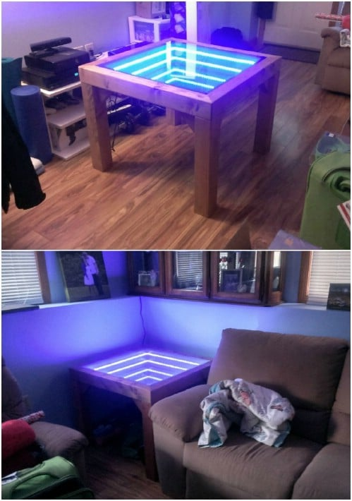 DIY Infinity Side Table