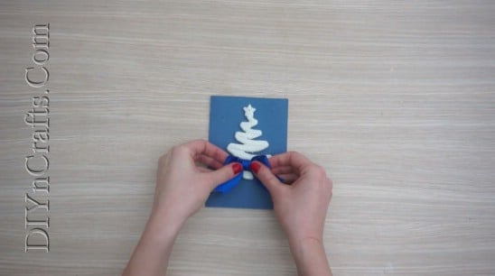 Tree Card #1 - Send Your Season's Greetings In Style With These 5 DIY Christmas Cards