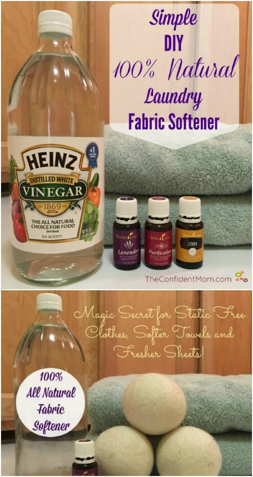 Easy All Natural Liquid Fabric Softener