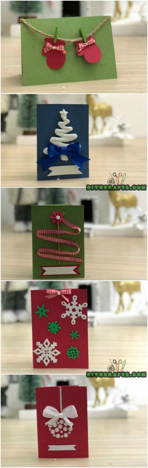 Send Your Season's Greetings In Style With These 5 DIY Christmas Cards