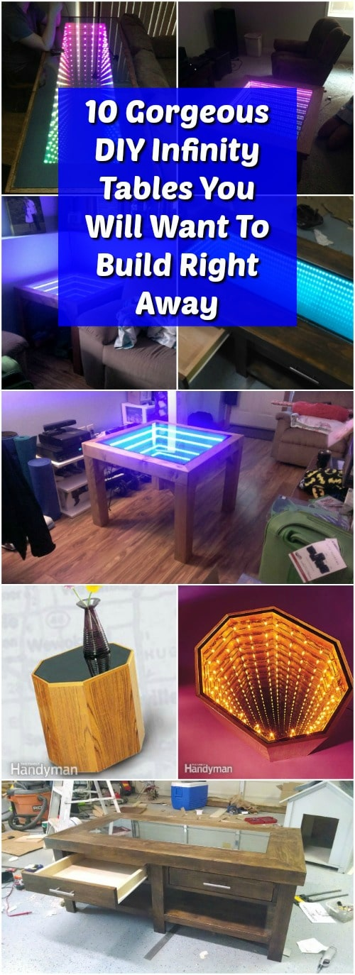 10 Gorgeous DIY Infinity Tables You Will Want To Build Right Away