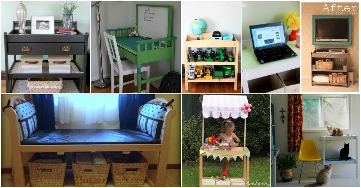 Image of: 20 Brilliant Repurposing Projects For Changing Tables Diy Crafts