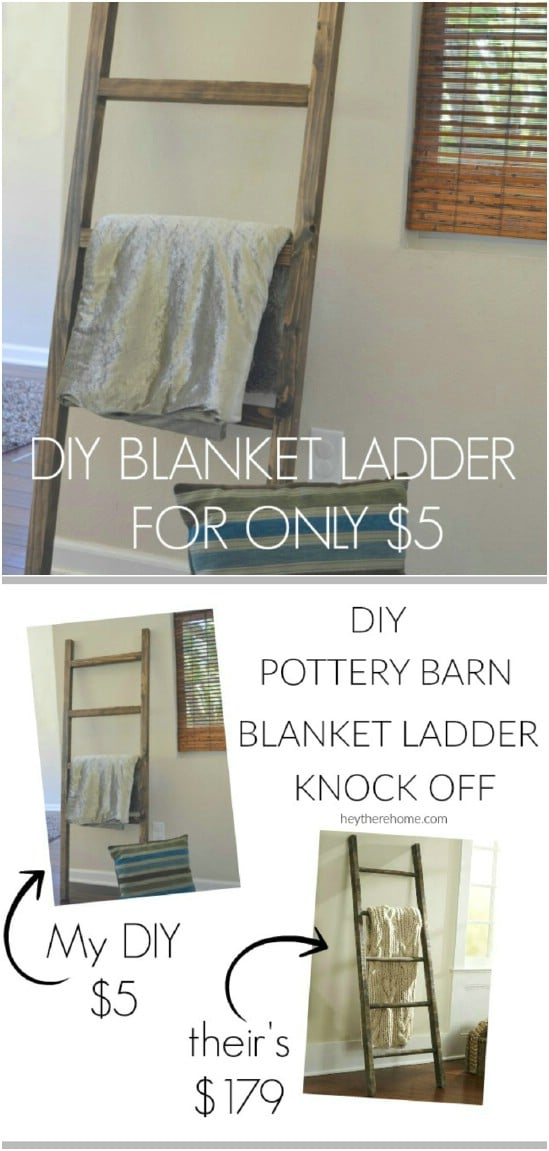$5 Blanket Ladder