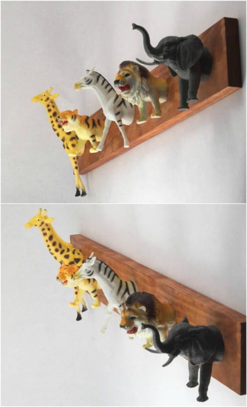 Safari Animal Coat Rack