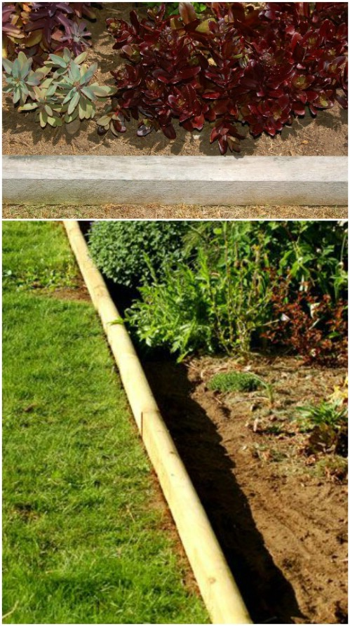 Pressure Treated Landscaping Garden Edging