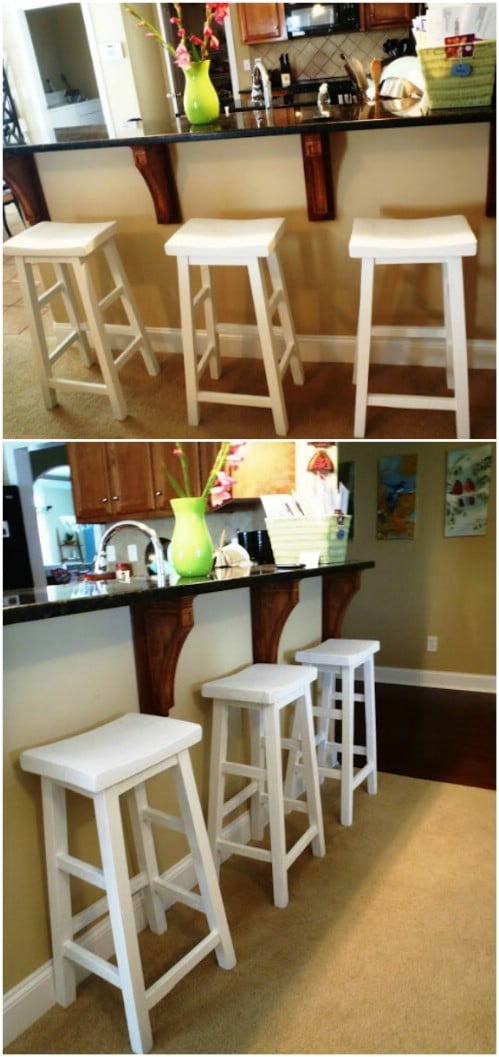 15 Gorgeous DIY Barstools That Add Comfortable Style To The Kitchen on cheap home flooring ideas, cheap home insurance, cheap home theater rooms, cheap radio, cheap home business, cheap home carpet, cheap home building, mainline bedroom furniture, big lots furniture, cheap home loan, cheap home fencing, cheap home landscape, cheap home theatres, cheap home computers, cheap home garden ideas, cheap home audio systems, cheap home internet, cheap home security, cheap home landscaping ideas, cheap home fixtures,