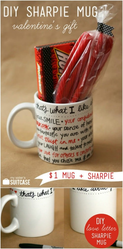 DIY Sharpie Mug Gift