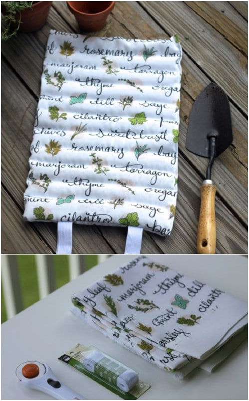 Easy To Sew DIY Garden Kneeling Pad