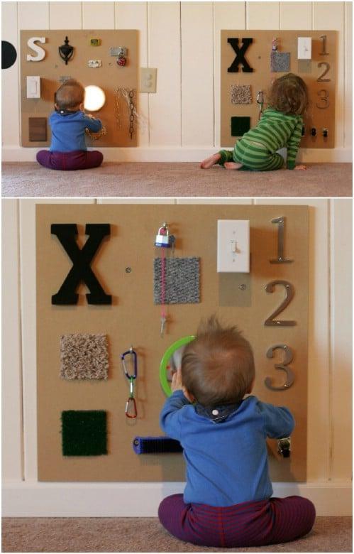Handmade Wooden Sensory Board