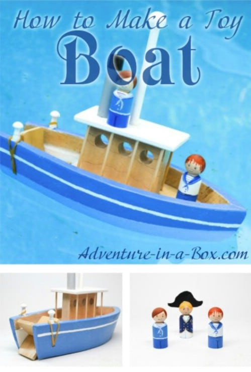 DIY Wooden Toy Boat