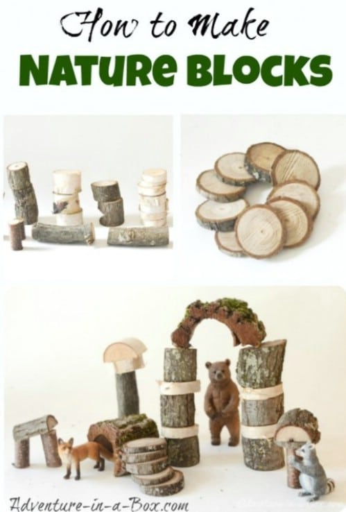Cheap And Easy DIY Nature Blocks
