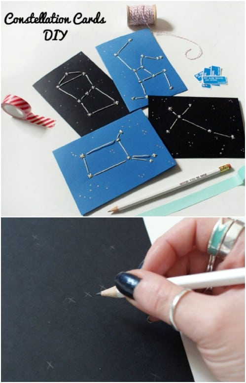 Star Crossed Lover Constellation Cards
