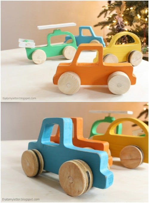 Handmade Wooden Vehicles