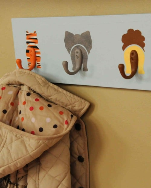 Cute DIY Animal Hooks