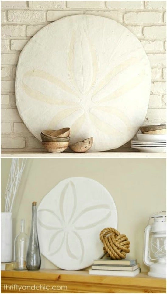 Pottery Barn Inspired Oversized Sand Dollar