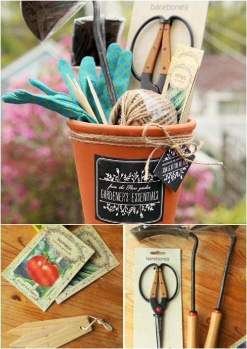DIY Gardener's Gift Basket